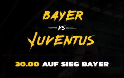 Energybet Bayer Leverkusen Juventus Turin Quotenboost wetten