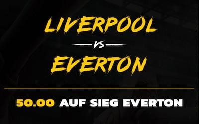 Energybet Merseyside Derby Liverpool Everton Quotenboost wetten