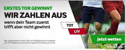 Betway Tottenham Liverpool erstes Tor gewinnt