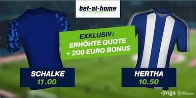 Bet-at-home Schalke Hertha Pokal Quotenboost