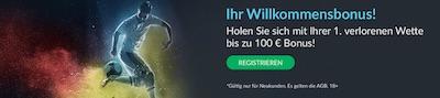 BetVictor Neukundenaktion mit 100 Euro Wette ohne Risiko