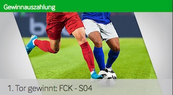 Betway 1. Tor gewinnt Aktion zu Köln gegen Schalke