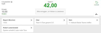 Betway Wett-Tipp zu Bayern - Hoffenheim im Achtelfinale des DFB-Pokals