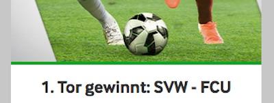 Betway Wettaktion zu Werder Bremen gegen Union Berlin