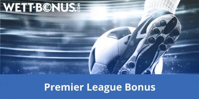 Premier League Bonus Wetten Banner