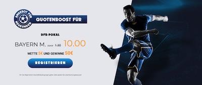 Ohmbet DFB Pokal Schalke Bayern erhöhte Quote