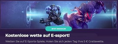 Betzest eSports Gratiswette
