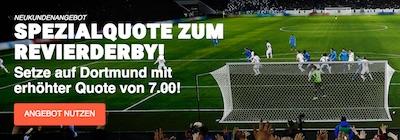 LeoVegas Quotenboost auf Sieg BVB gegen Schalke im Revierderby