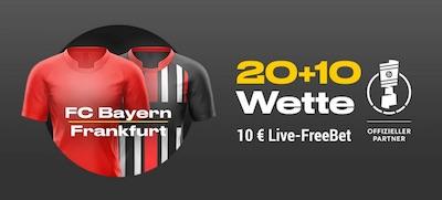 Bwin Live-Freebet zum DFB-Pokal-Halbfinale zwischen FC Bayern und Eintracht Frankfurt