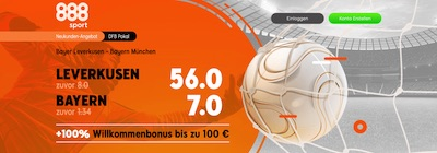 888sport Pokalsieger verbesserte Quoten wetten