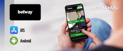 Die Betway App für Sportwetten