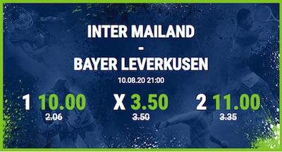 Top-Quoten bei Bet-at-home auf das EL-Viertelfinale Inter Mailand vs. Bayer Leverkusen