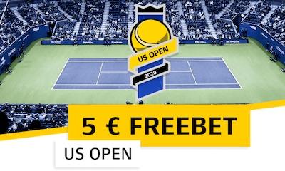 XTiP Cashback Aktion zu den US Open 2020
