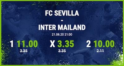 Bet-at-home Boost zu Sevilla-Inter
