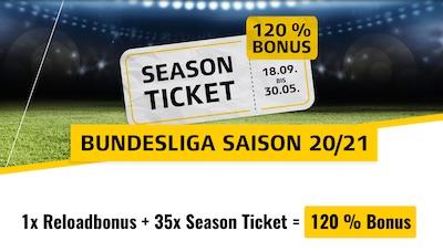 XTiP Bundesliga Season Ticket