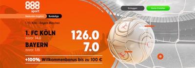 888sport 1 FC Köln Bayern München erhöhte Quoten wetten