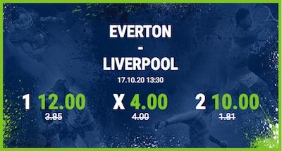Bet at home Quotenboost auf Everton und Liverpool im Merseyside Derby