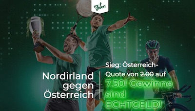 Mr Green Quotenboost in der Nations League auf Österreich in Nordirland