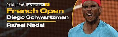 Bwin Banner zu Schwartzman vs Nadal