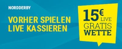 sportwetten.de Live-Freebet für Kiel vs. HSV in der 2. Bundesliga