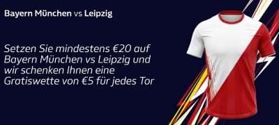 FCB-RBL: 5€ für jeden Treffer bei William Hill
