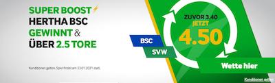 Hertha SVW Betway