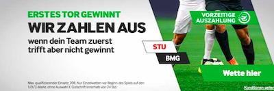 Betway Tor gewinnt VfB BMG
