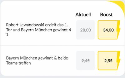 Bildbet Bundesliga Boost