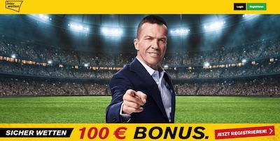 Lothar Matthäus präsentiert den Interwetten Bonus