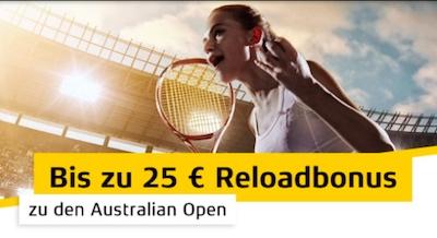 Tennis Reload Merkur