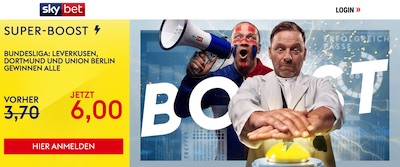 Sky Bet B04 BVB Union Quoten Promo wetten