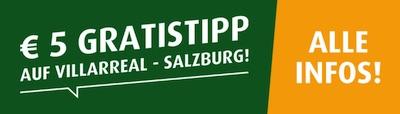 tipp3 Villarreal Salzburg Gratistipp wetten