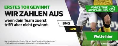 Betway Tor Promo wetten Gladbach Dortmund Pokal