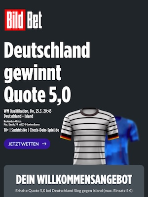 Super Boost Bildbet Deutschland WM Quali