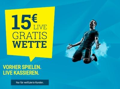 WM Quali Sportwetten.de 15 Euro