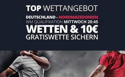 Novibet Freiwette DFB Team WM Quali Spieltag wetten