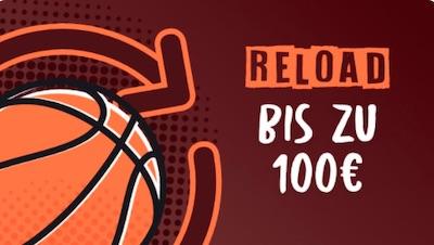 Wallacebet Reload Bonus bis 100€