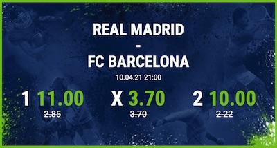 Bet at home Real Madrid FC Barcelona Super Quoten El Clasico wetten