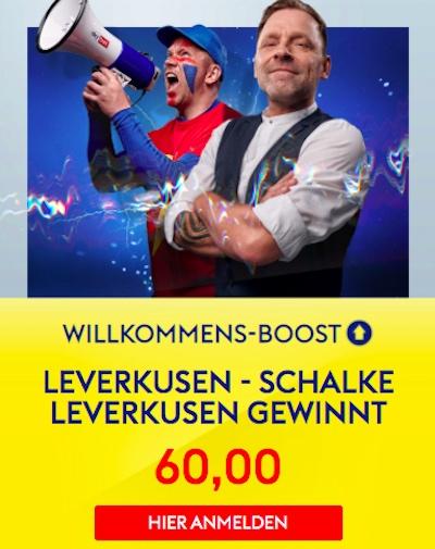 Sieg Bayer vs Schalke bei SkyBet