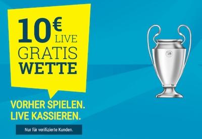 Bayern vs PSG Sportwetten.de 10 Euro