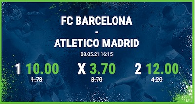 Bet at home Boost zu Barca - Atletico