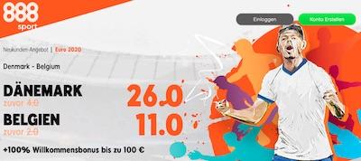 888sport Boost du Denmark Belgien
