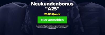 William Hill Österreich Nordmazedonien Wetten erhöhte Quote EURO 2021
