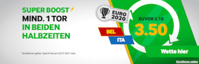 Belgien Italien Betway Boost
