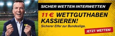 Interwetten Gutschein Bundesliga Wettguthaben geschenkt