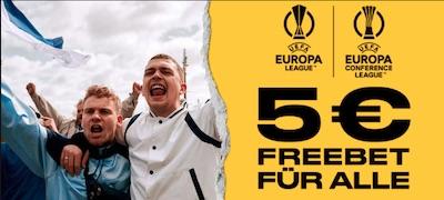 Bwin Freebet zum Start der Europapokalbewerbe!